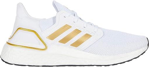 Footwear White/Gold Metallic/Crystal White