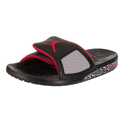 960dc8cb6189ad Jordan Hydro III Retro Men s Slides Black University Red 854556-003