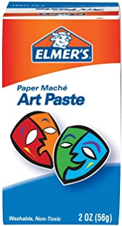 Elmer's Glue Bulk Buy Paper Mache Art Paste 2 Ounces 99000 (3-Pack)