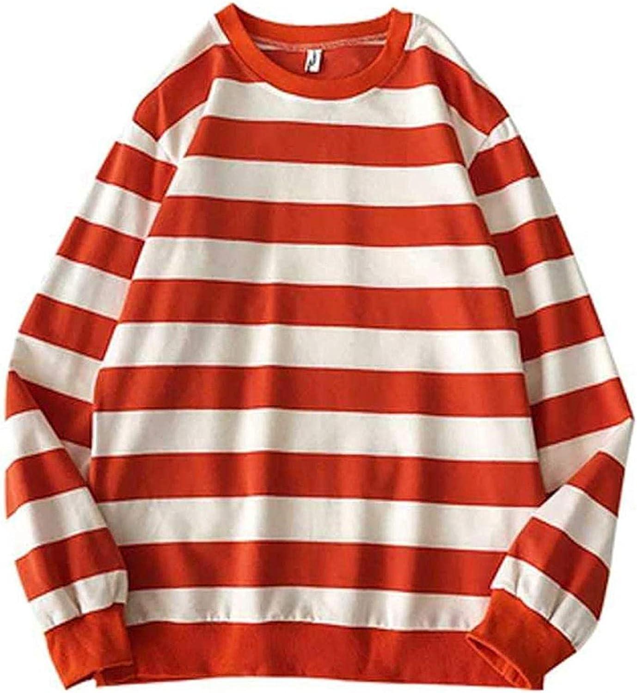 ONHUON Cute Hoodies for Women,Womens O-Neck Sweatshirt Long Sleeve Splice Tops Loose Hoodies Teens Girls Casual Pullover