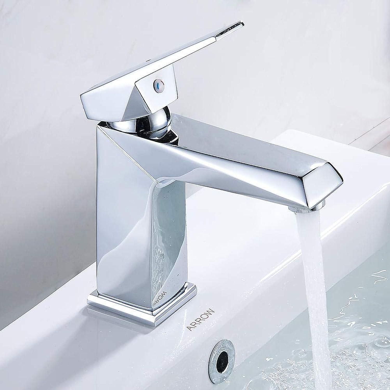 Gorheh 1 Satz Messing Krper Bad Becken Wasserhahn Waschbecken Wasserhahn Kalt Und Warm Mischbatterie Chrom-Finish