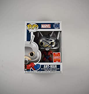 Paul Rudd Ant-Man #350 Marvel Avengers Infinity War Endgame SDCC Comic Con Limited Edition Autographed Signed Funko Pop 'GA' Certified Authentic COA