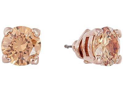 Kate Spade New York Heart Stud Earrings (Light Colorado) Earring