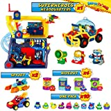 SuperThings Secret Spies Serie – Sede Superhéroes y Pack Sorpresa 16 Sets |...