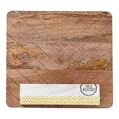Hallmark Home Clever Kitchen Everyday Collection, Wood Cookbook or iPad Holder/Stand
