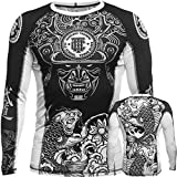 Rashguard Hardcore Training Koi-m MMA BJJ Fitness Grappling Camiseta de compresión
