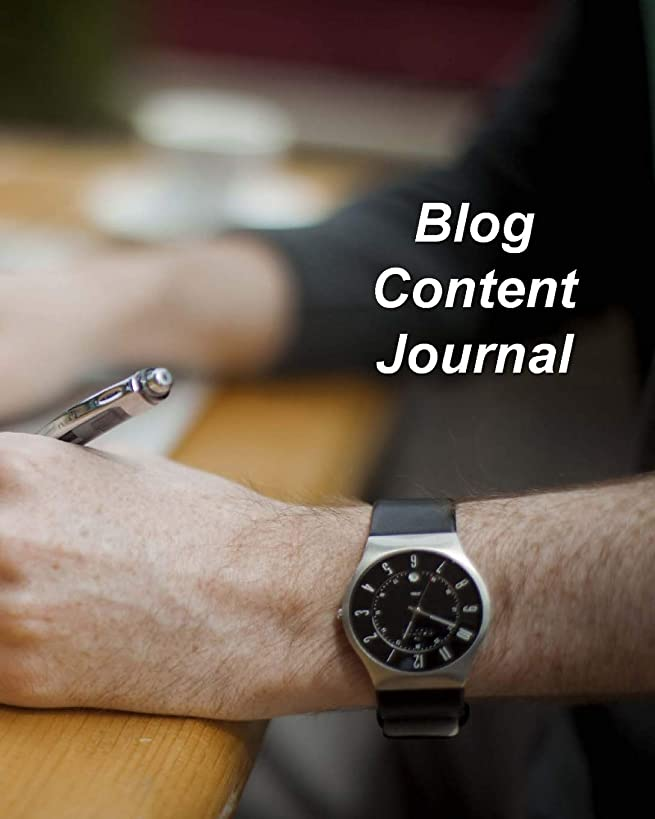 Blog Content Journal: Content Planner for Blog Posts