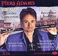 Vivaldi: Recorder Concerto / Handel: Recorder Sonatas by Piers Adams (2012-07-10)