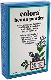 Colora Henna Powder, Light Brown