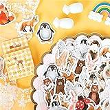 BLOUR 45 Unids/Set Linda Etiqueta de Papelería Kawaii Sailor Moon patrón Diario útiles Escolares papelería Pegatinas de Navidad Etiqueta de Regalo