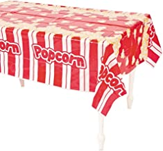 Plastic Popcorn Table Cover - 54