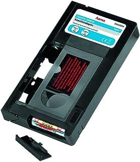 Hama Cassette adaptatrice (VHS-C/VHS, motorisée, 6 mm) Noir