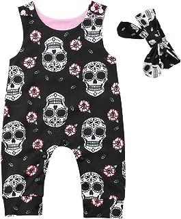 sugar skull baby girl clothes