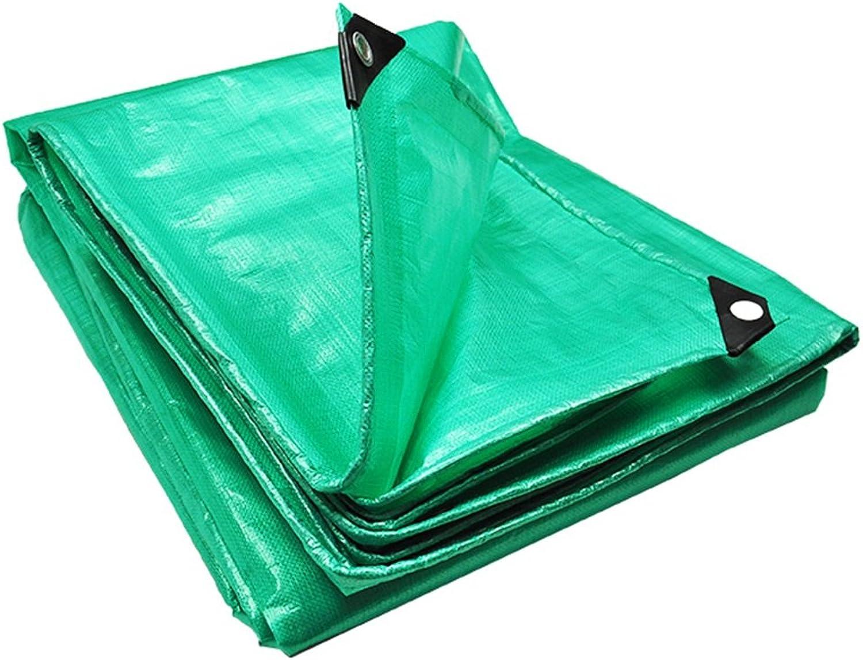 Hyzb Plane verdicken verdicken verdicken Plastikgrün-Wasserdichten Isolierungs-Balkon-regendichte Sicherheit geruchlos 0.35mm Starkes 180g   m2 (größe   6  6m) B07NN74R1B  Großer Räumungsverkauf 0383d5