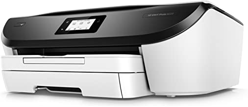 HP Envy Photo 6255 All-in-One Printer with WiFi and Mobile Printing in White (Renewed)