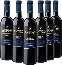Antaño Vino Tinto D.O Rioja, Crianza de 12 Meses, Volumen