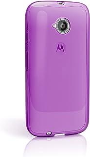 b3093b501da iGadgitz Funda de TPU y Protector de Pantalla para Motorola Moto E 2a  generación XT1524,