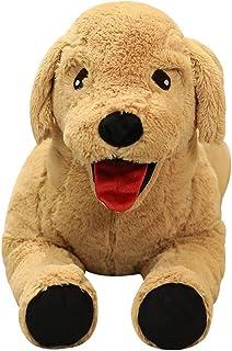 EODNSOFN Vie Vraie Mignon Labrador Chien Peluche Jouets Simulation poupée Animal poupée poupée Douce Dessin animé dort dor...