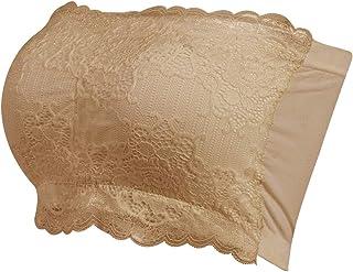 Molemsx Women's Bandeau Bra, Basic Layering Seamless Bra Crop Tube Top Bandeau Strapless Brarette,1-4 Pack