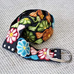 embroidered gift ideas ~ woven belt