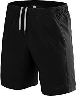 TCA Men's Natural Performance Bamboo Workout & Running Shorts with Pockets