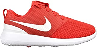 nike golf shoes red