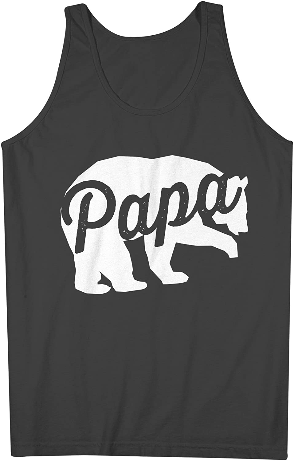 Papa Bear Father Dad 男性用 Tank Top Sleeveless Shirt