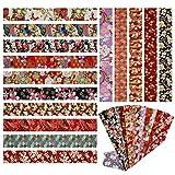 aufodara 15er Japanische Stil Stoff Baumwolle Streifen 6,5