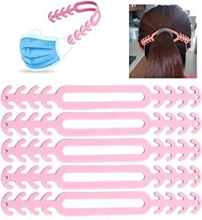 Mask Extender, Anti-Tightening Ear Protector Decompression Holder Hook Ear Strap Accessories Ear Grips Extension Mask Buckle Ear Pain Relieved