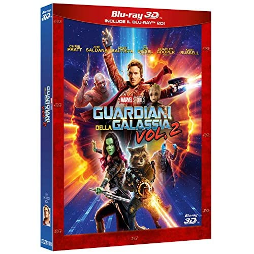 Guardiani della Galassia Volume 2 (Blu-Ray 3D + Blu-Ray 2D)