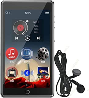 RUIZU H1 Full Touch Screen MP3 Player Bluetooth 8GB Music Player with Built-in Speaker Support FM Radio Recording Video E-...