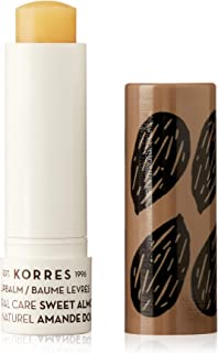 Korres Lip Balm Natural Care Stick - Sweet Almond by Korres for Women - 0.17 oz Lip Balm, 5.03 milliliters