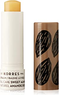 Korres Lip Balm Natural Care Stick - Sweet Almond by Korres for Women - 0.17 oz Lip Balm, 5.03 milliliters