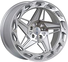 Regen5 R35 Silver Wheel with Machined Finish (18 x 8.5 inches /5 x 112 mm, 40 mm Offset)