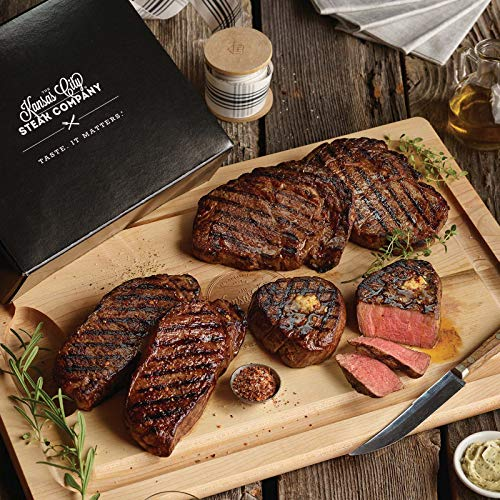 Steak Sampler Gift Boxed set with 3 Classic Cuts from Kansas City Steaks. An exception grill-lover's gift