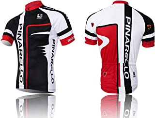 VIa Cycling Jerseys Men's Bicycle Jersey Summer Breathable Jersey Bike Biking Shirt V302