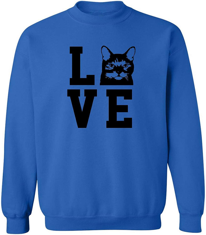 Love Cats Crewneck Sweatshirt