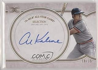 Al Kaline #18/35 (Baseball Card) 2018 Topps Definitive Collection - Legendary Autograph Collection #DCLA-AK