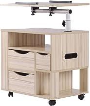 Szafka nocna Szafka nocna Sofa stół regulowana z szufladą do przechowywania Platforma do czytania Jedzenie na stoliki nocn...