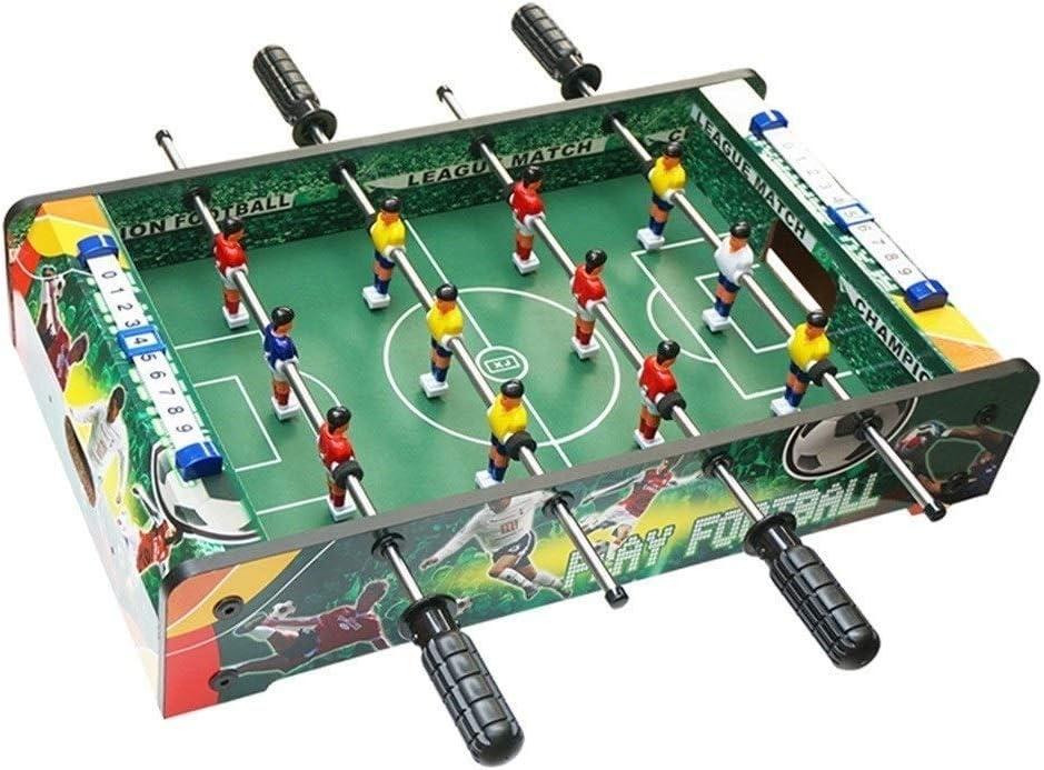 SMEJS Mesa de la máquina de Fútbol - Juego de Mesa Multi con Billar, Push Hockey, futbolín, Ping-Pong, y Más