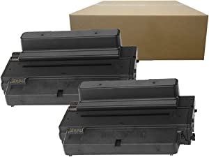 Inktoneram Compatible Toner Cartridges Replacement for Dell B2375dfw B2375dnf 593-BBBJ 8PTH4 C7D6F High Yield (Black, 2-Pack)
