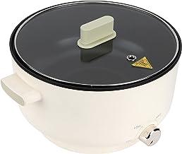 Hot Pot Electrique Fondue Électrique Multifonction Marmite électrique Faitout chaud électrique Poêle électrique avec couve...