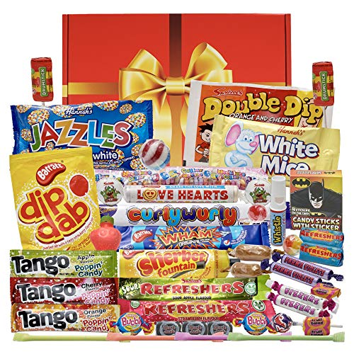 Bumper Retro Sweets Gift Box - New and Improved Version of The Bestselling Sweet Hamper with an Even Bigger Old Fashioned Sweetshop Selection