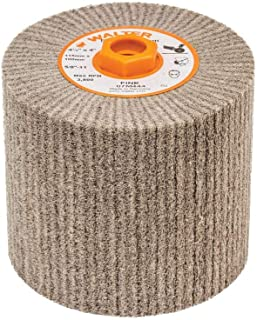 Walter 07M444 Blendex Linear Finishing Abrasive Drum - Fine Grit, 4-1/2 in. Finishing Drum for Surface Conditioning. Abrasive Tools and Accessories