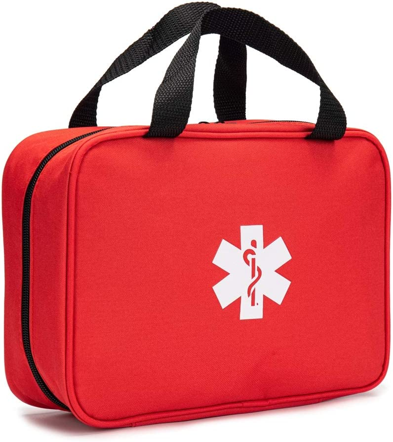 Jipemtra Denver Mall Red First Aid Bag Empty Pouch Travel Respo Rescue New sales