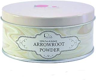 looms & weaves - Pure Arrowroot Powder for Skin Care - 100 gm