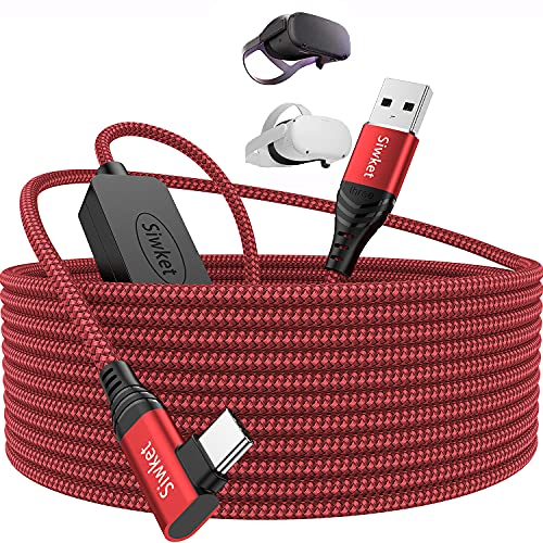 Siwket - Cable Oculus Quest 2 Link 6 m, cable USB 3.0...