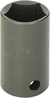 SK Hand Tool 34205 5 Point Drive Utility Socket – 1/2-Inch, Corrosion Resistant, Black Coated...