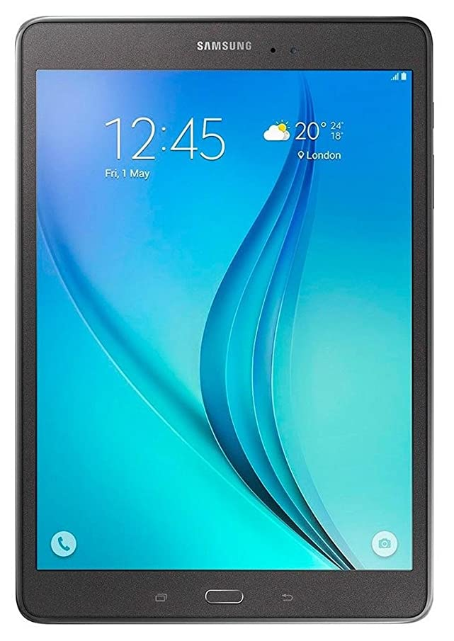 Samsung Galaxy Tab A 16GB P555M 9.7-inch Factory Unlocked GSM 4G LTE + Wi-Fi Quad-Core Android Tablet PC - Smoky Titanium