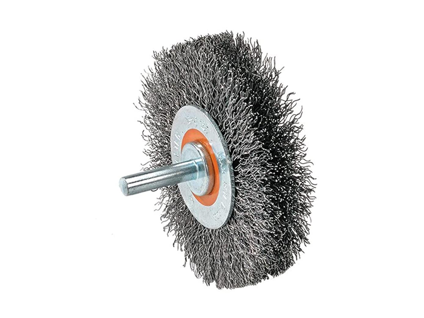 Walter 13C175 Crimped Wire Mounted Brush – ? in. Width, 3 in. Stainless Steel Brush for Surface Cleaning. Abrasive Finishing Brushes